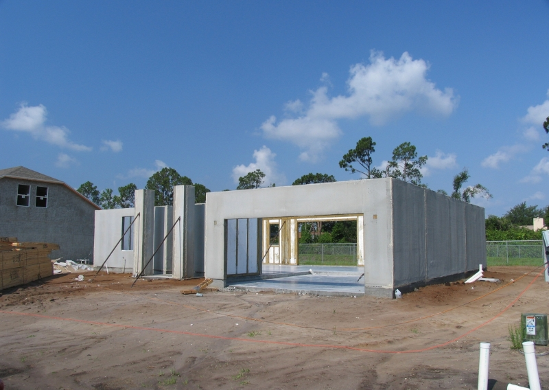 Superior walls the ag wall above grade prefab wall systems for Prefab foundation walls